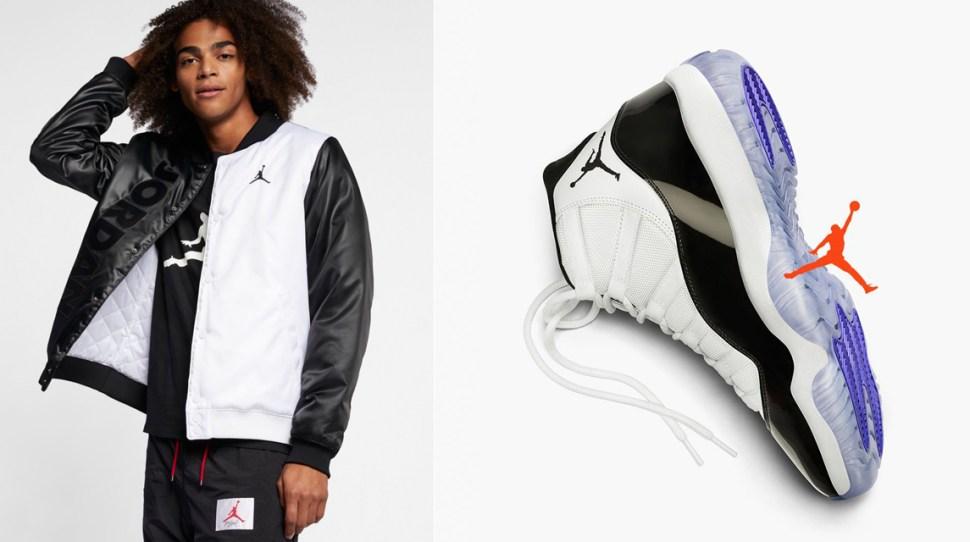 Air Jordan 11 Concord Jacket Sportfits Com