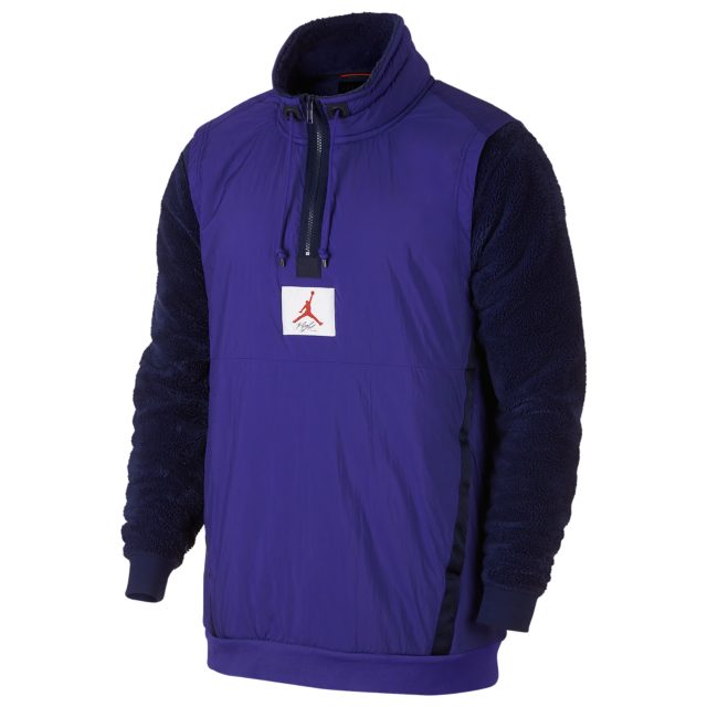 Air Jordan 11 Concord Sherpa Jacket Sportfits Com