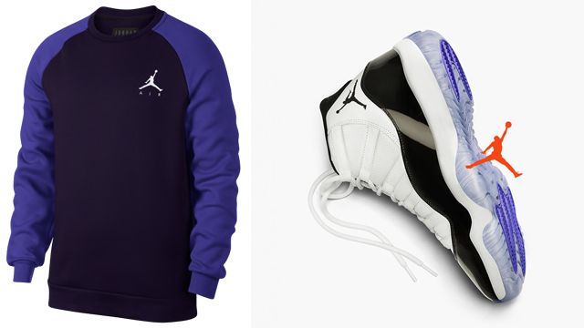 Air Jordan 11 Concord 2018 Sweatshirts Sportfitscom