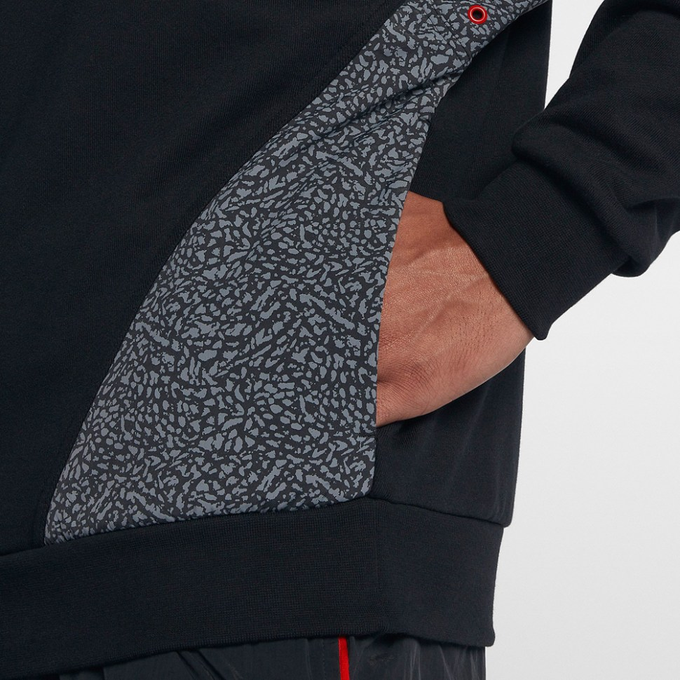 d59e47b09cd Air Jordan 3 Black Cement Vault Jacket | SportFits.com