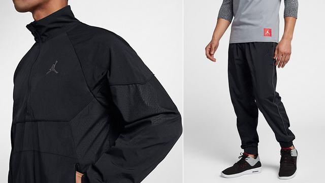 50a9629e92bf5 Jordan Retro 3 Black Jacket and Pants