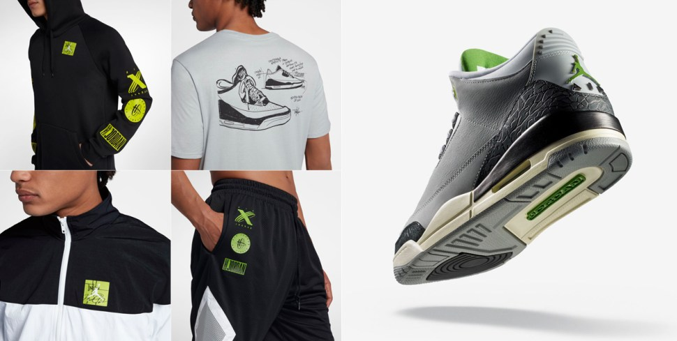 size 40 2c974 a8874 Jordan 3 Chlorophyll Shoes Clothing and Gear | SportFits.com