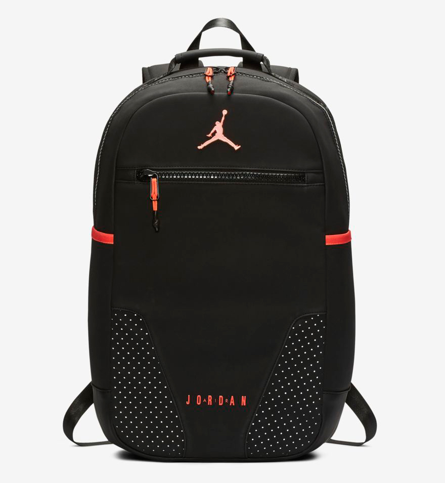 100% authentic 07fe6 74345 Air Jordan 6 Black Infrared Backpack   SportFits.com