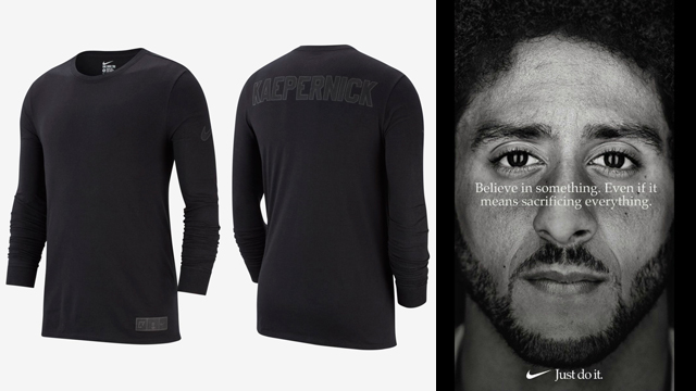 68489948 Nike Sportswear Colin Kaepernick Shirt   SportFits.com