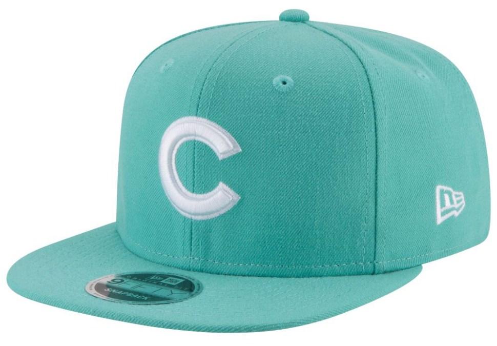 de052b0f852 jordan-11-emerald-easter-mlb-snapback-cap-cubs-