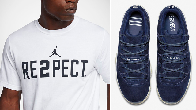 "29954e6c1fb Jordan RE2PECT Clothing to Match Derek Jeter's Air Jordan 11 Low ""RE2PECT"""