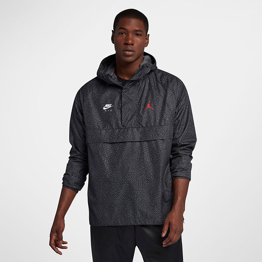 418cce515d3 Jordan 3 Black Cement Anorak Jacket | SportFits.com