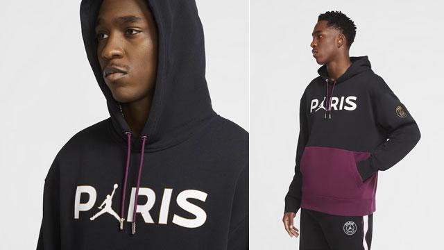 Air Jordan 4 PSG Paris Saint Germain Hoodies | SportFits.com