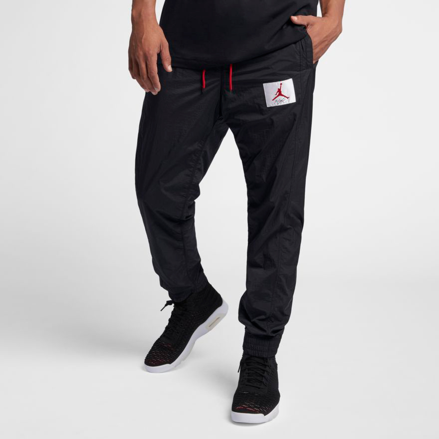 1a444aa1842 Air Jordan 4 Bred Wings of Flight Pants | SportFits.com