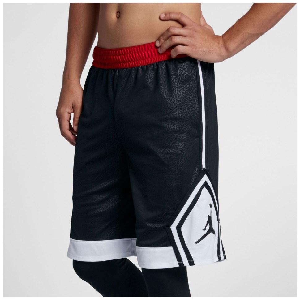 8b419abd3320cc jordan-diamond-rise-basketball-shorts-black-cement
