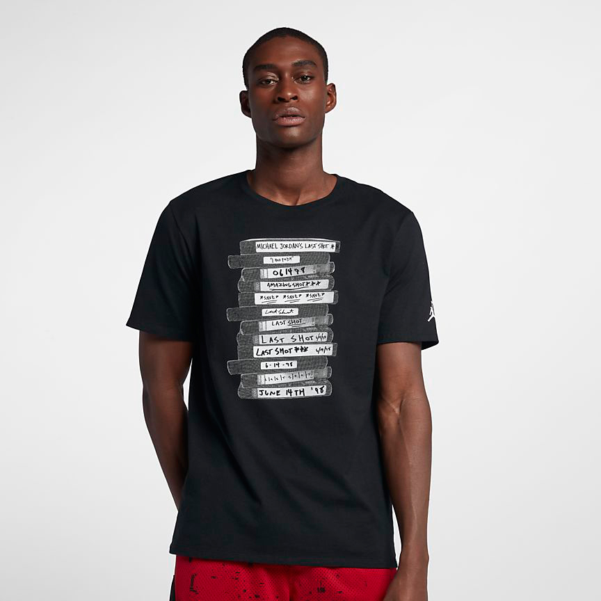 a3d0624c18492c Air Jordan 14 Last Shot T Shirt