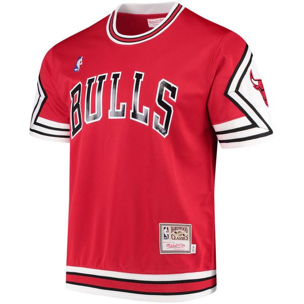 c4d59db4265 Michael Jordan Bulls Mitchell Ness Shooting Shirt | SportFits.com