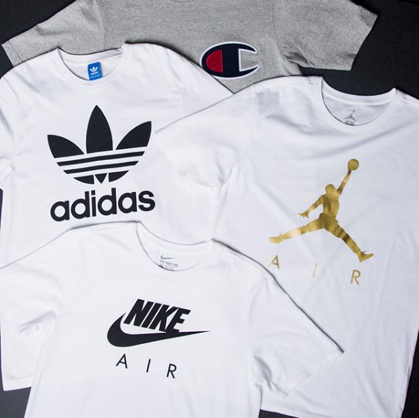 tee shirt nike adidas