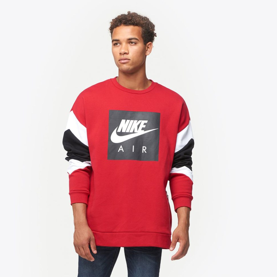 Nike Air Fleece Crew Sweatshirts Sportfits Com