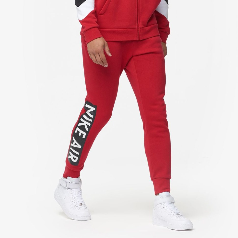 best wholesaler order on feet shots of Nike Air Fleece Jogger Pants   SportFits.com