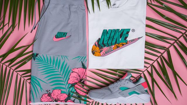 20c99ce194412 Nike Air Huarache Watermelon Shirt and Shorts to Match