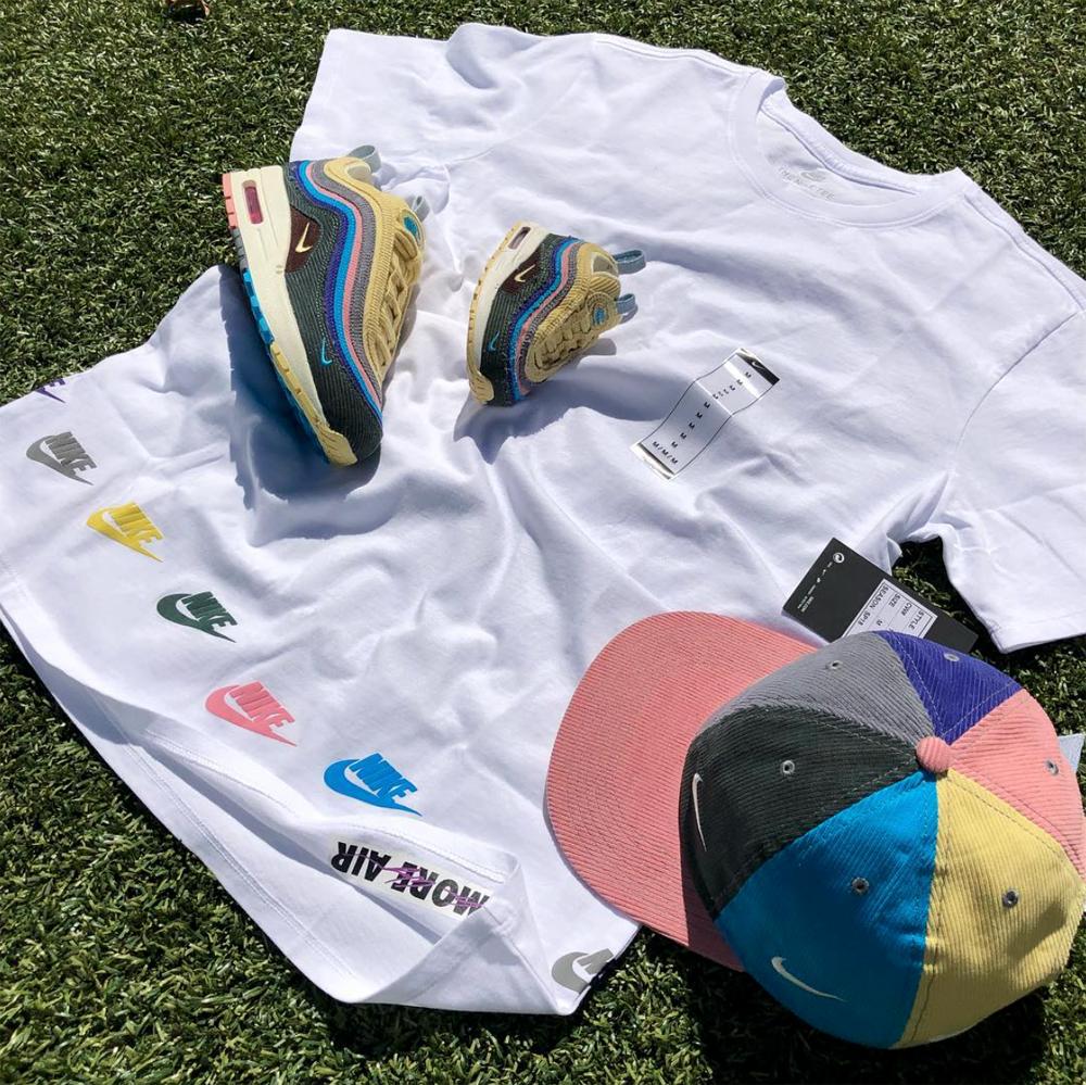Sean Wotherspoon Nike Air Max 1 97 Shirt Hat |