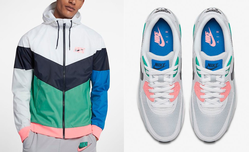 08f3cfc43768 Nike Air Max 90 South Beach Jacket Match