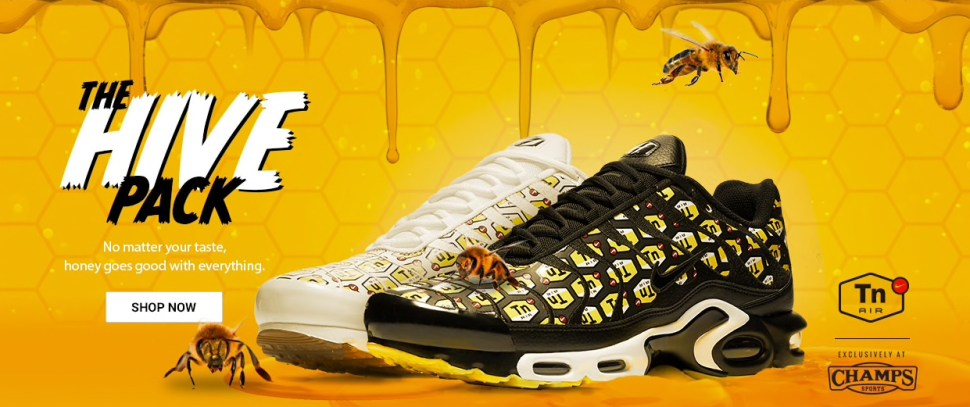 sale retailer dba02 622a0 Nike Air Max Plus Hive Sneaker Pack | SportFits.com