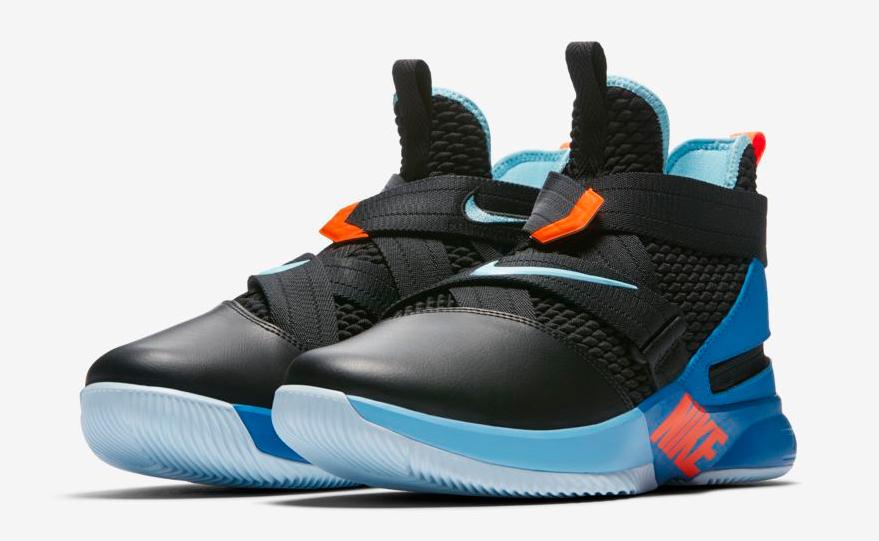 on sale 42bc6 4bf82 Nike LeBron Soldier 12 FlyEase Battle Blue   SportFits.com