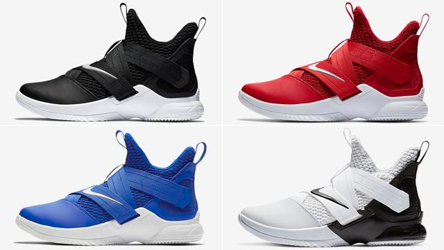 Nike LeBron Soldier 12 Team Colors  8766b8105ffd
