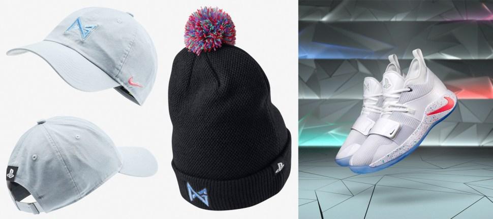 d7772f59f86f Nike PG x Playstation Hats. nike-pg-playstation-hats