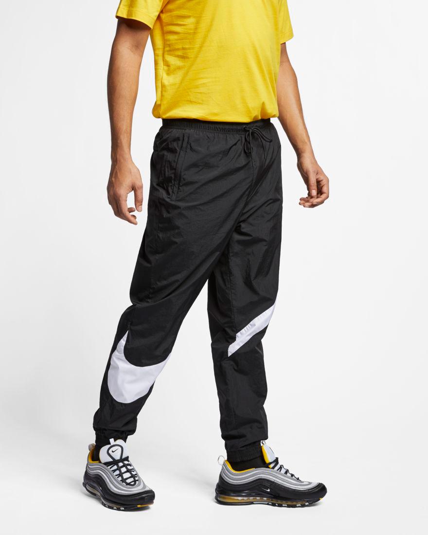 nike pants with big swoosh