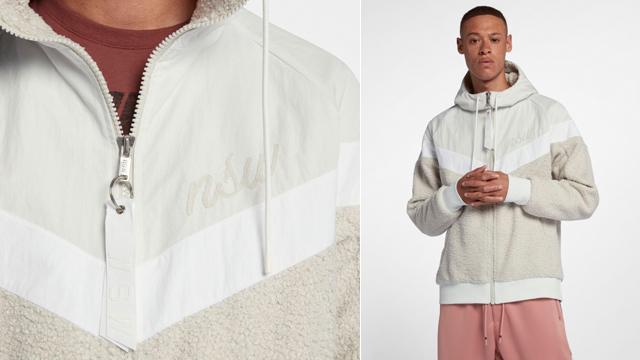 designer nuovo e usato grande selezione acquista lusso Nike Sportswear NSW Sherpa Windrunner Jacket | SportFits.com