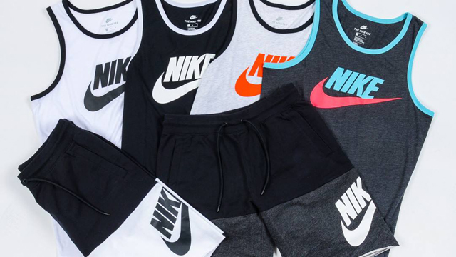 9fac35778aa8ab Nike Sportswear Tank Tops and Shorts for Spring 2018