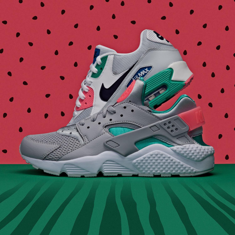 Nike Shorts to Match Nike Watermelon Sneakers  
