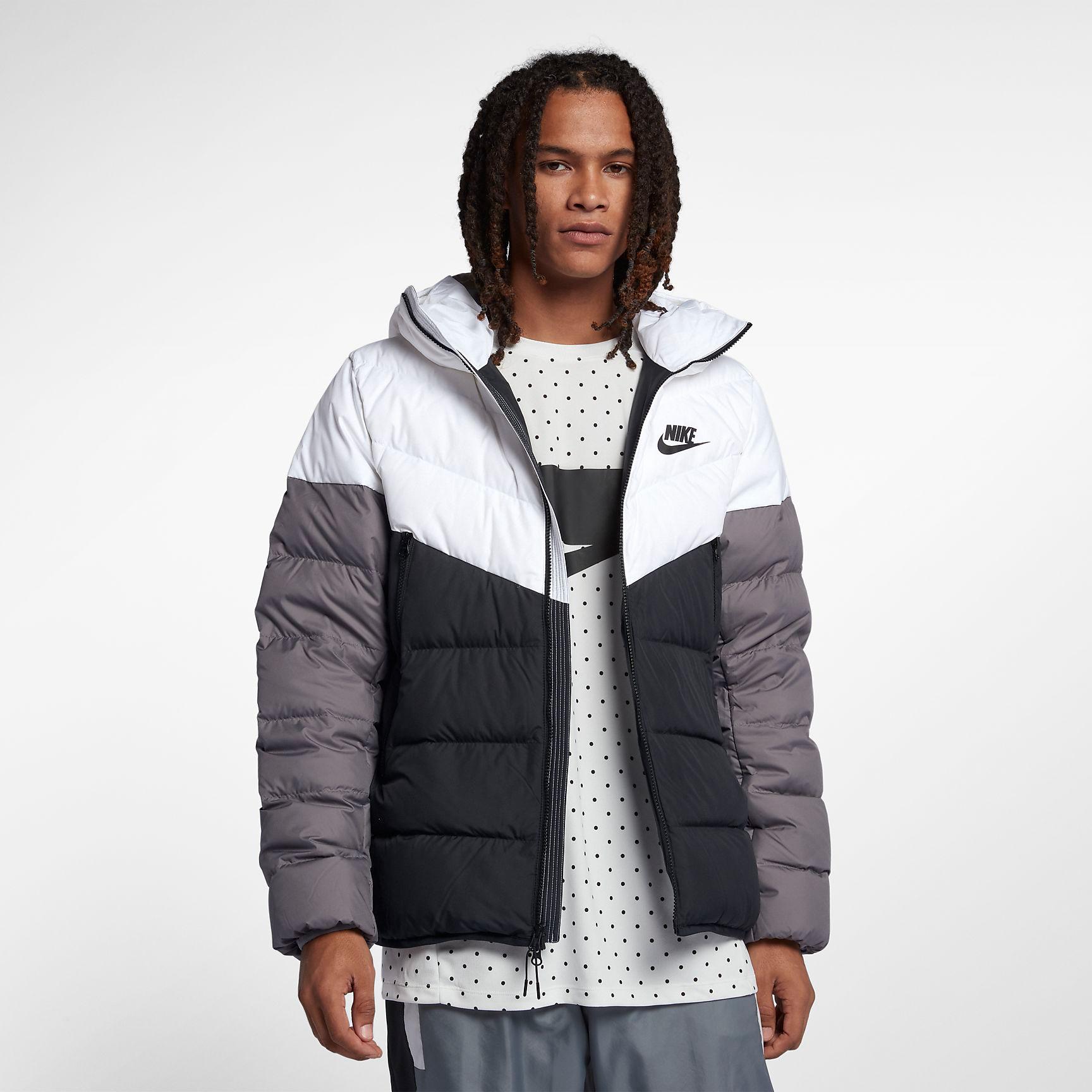 Nike Sportswear Windrunner Down Fill (black) | 43einhalb Sneaker Store