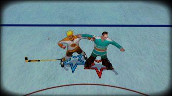 Скриншоты игры Old Time Hockey