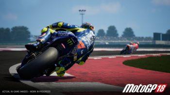 Скриншоты игры MotoGP 18