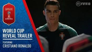 Трейлер обновления World Cup Russia для FIFA 18