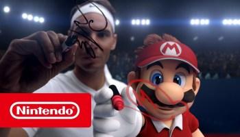 Рафаэль Надаль сразился с Марио в трейлере Mario Tennis Aces