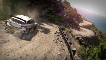 Геймплейный трейлер раллийного симулятора WRC 8