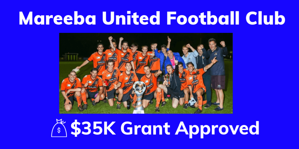 Mareeba United Football Club  Grant Approval