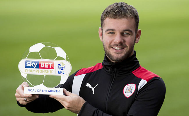 Adam Armstrong Barnsley Goal Of The Month