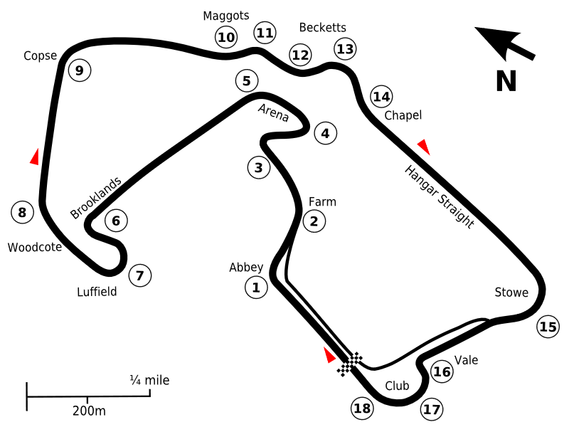 Silverstone current layout