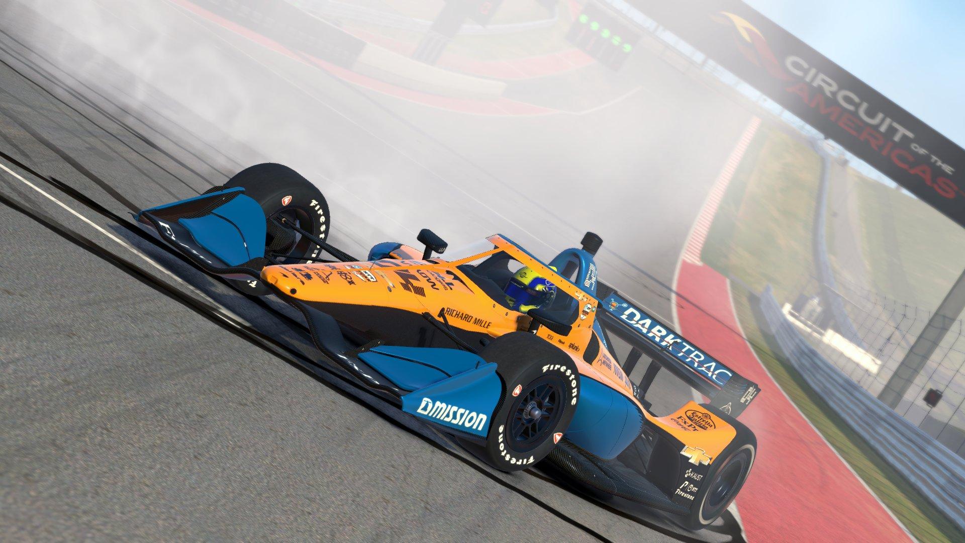 Norris IndyCar iRacing