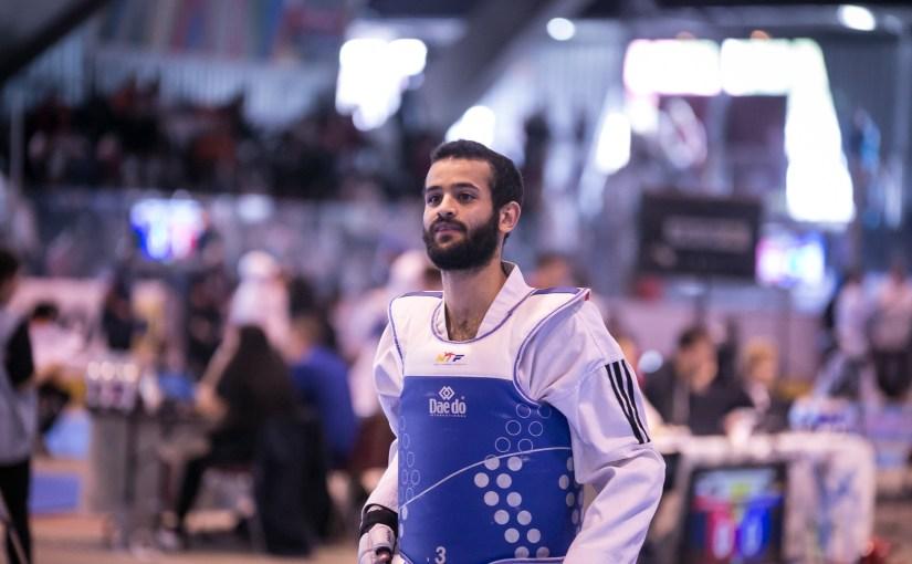 Mohammed Mansour ist Deutscher Vizemeister im TKD