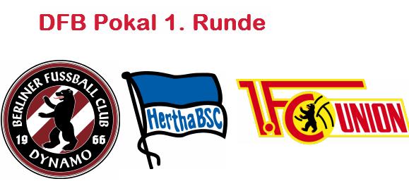 Nur der BFC ist raus – Hertha und Union weiter