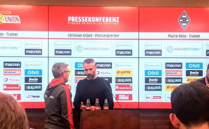 Die Eisernen schaffen auch die Borussia aus Gladbach