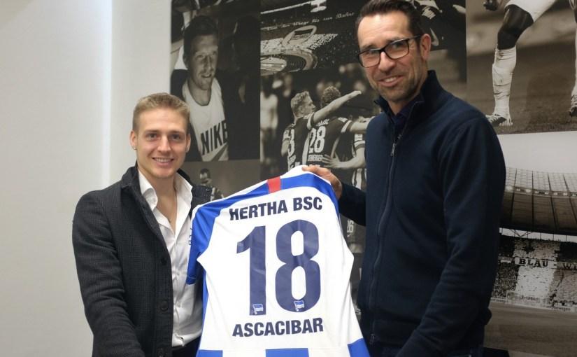 Hertha BSC verpflichtet Santiago Ascacibar