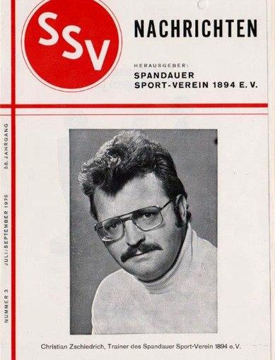 """Die """"schillernde Pappfigur"""" des Spandauer SV – Berliner Fußballgeschichte(n) Teil 1"""