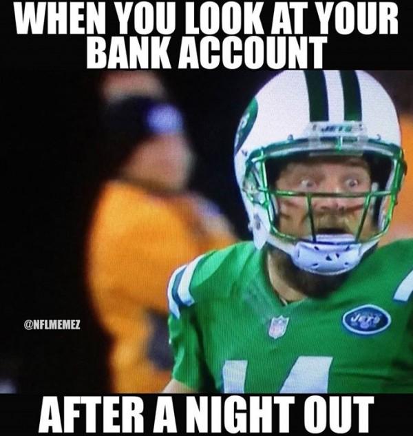 Bank Account Meme Sportige
