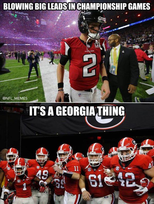 College Football Memes 2018 : college, football, memes, Georgia, Thing, Sportige