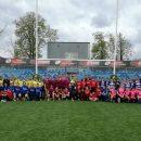 Echipa de rugby feminin a Universității Cluj joacă la Iași