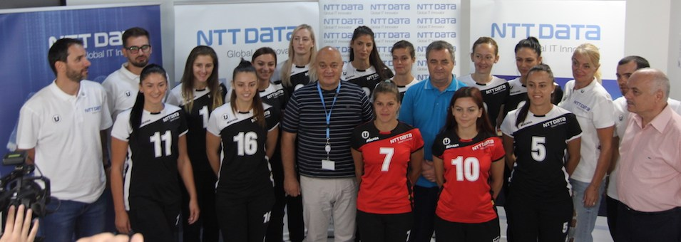 Volei feminin: Universitatea NTT Data și-a prezentat lotul