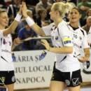 Handbal feminin: Universitatea Cluj a fost învinsă pe terenul Coronei Brașov
